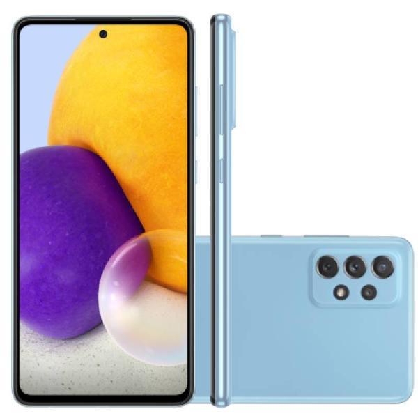 """Smartphone Samsung Galaxy A72 Azul 128 GB 6.7"""" 6 GB RAM"""