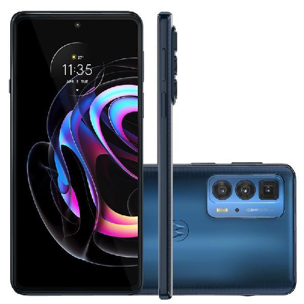 "Smartphone motorola edge 20 pro Azul 256 GB 6.7"" 12 GB RAM"