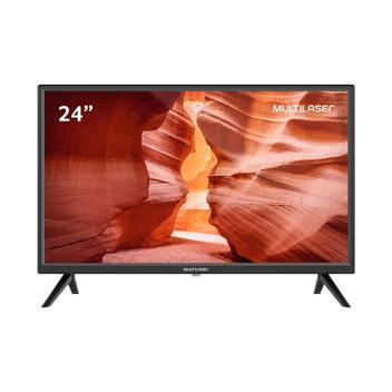 TV Multilaser 24 LED HD HDMI USB AV DNR TL037 - TVs -