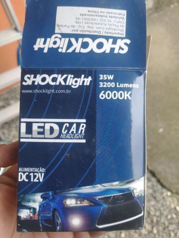 Vendo (par) lâmpada h4 led usada