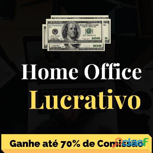 Home office lucrativo 100% seguro