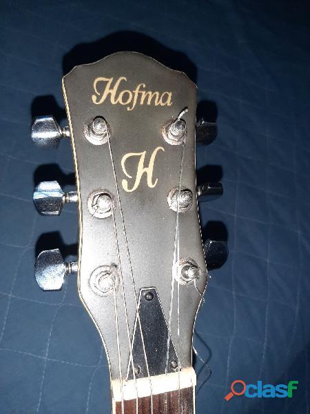 Violão vintage rústico   TROCO BIKE Hofma HMF24 1