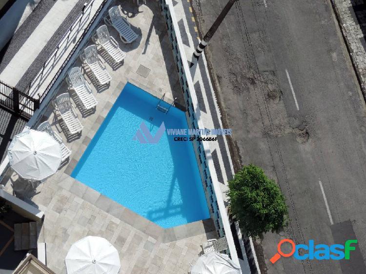 Locação apartamento2 dormitórios 86m² 100 mts da praia das astúrias guarujá