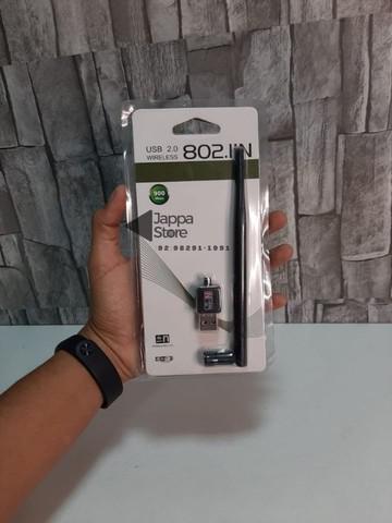 Antena adaptador wifi usb 2.0 wireless 802.11n