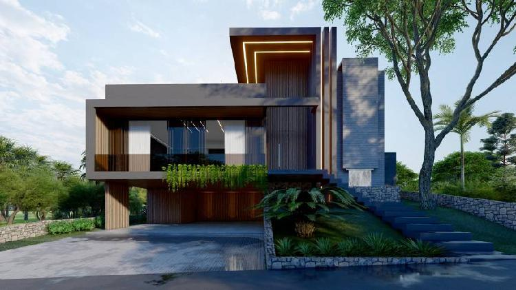 Casa em condomínio alto padrão, 4 dormitórios, 800m².