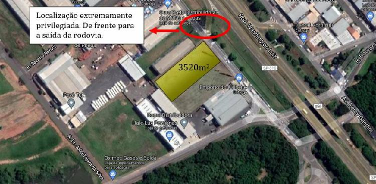 Lote/Terreno para venda tem 3520 metros quadrados