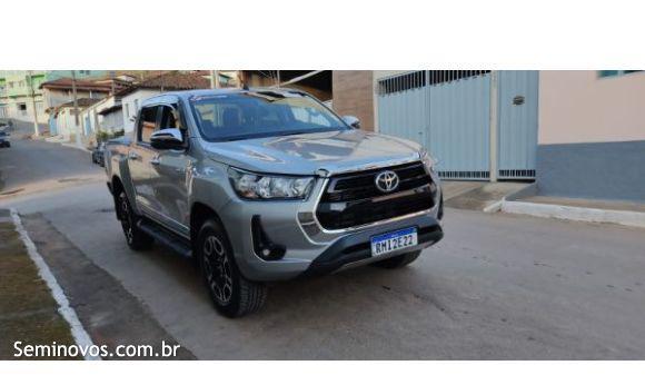 Toyota Hilux CD 2.8 SRV 4x4 2.8 TDI Diesel Aut. 20/21 Cinza