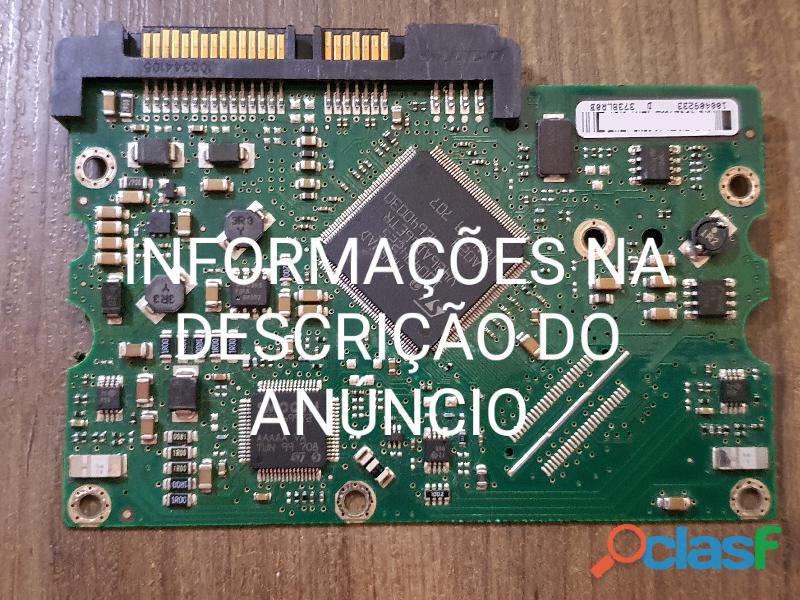 Placa Logica Hd 750 Gb St3750640ns   Fw: 3.cnk   Cod. 2559b 1