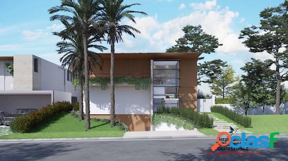 Casa nova no centro de alphaville - entrega dez/2022