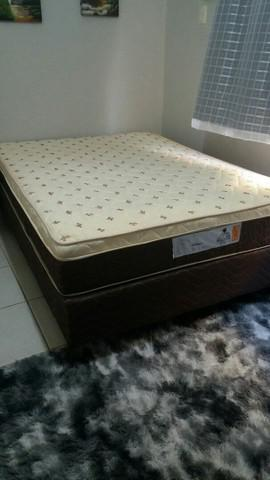 Cama box nova. com nota fiscal