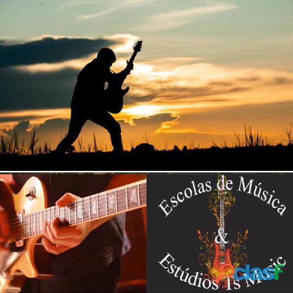Aulas de Guitarra em Sp