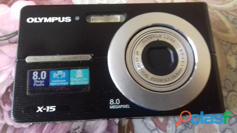 Câmera digital Olympus X15 8.0 megapixel