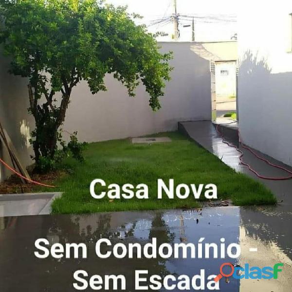 Casa Nova 3 quartos Jardim América Goiânia