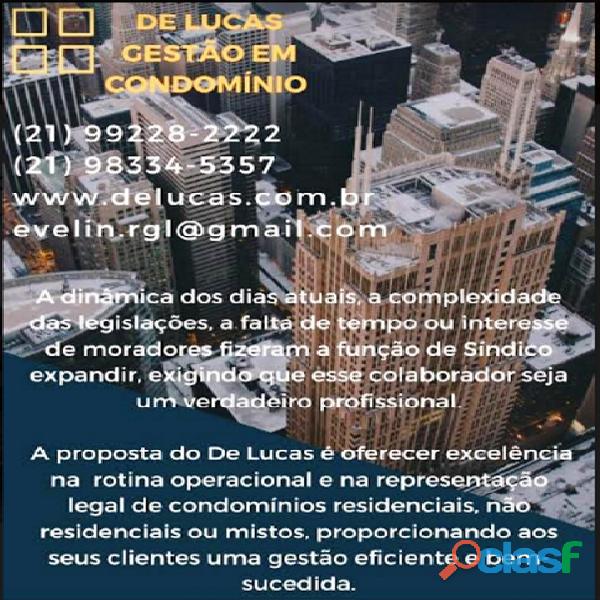 Síndico de Condomínios Rio de Janeiro.