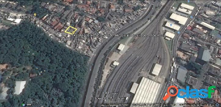 Terreno 977m2 (zeu) próximo do metrô c. redondo - zona sul