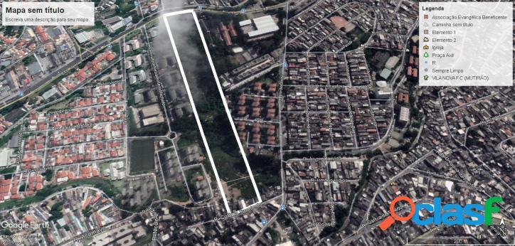 Terreno de 42.452 m² estr. itapecerica sp