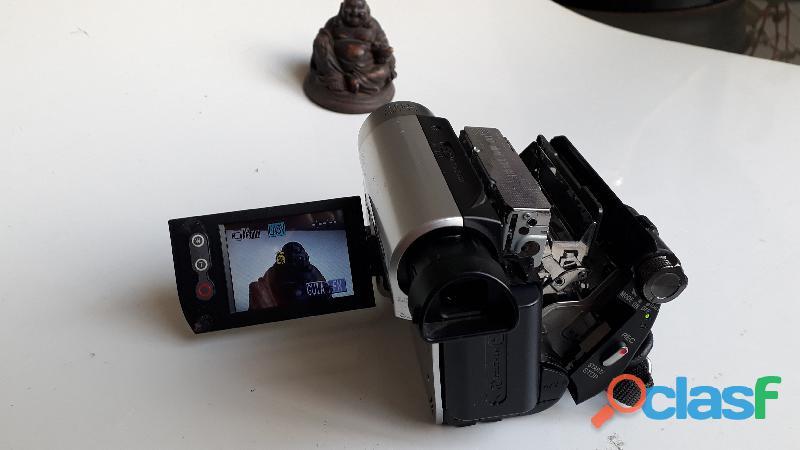 Camera Filmadora Sony Handycam MiniDV DCR HC52