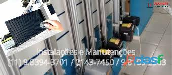 (11) 2143 7450 Manutenção de Portão Automático na vila Ema