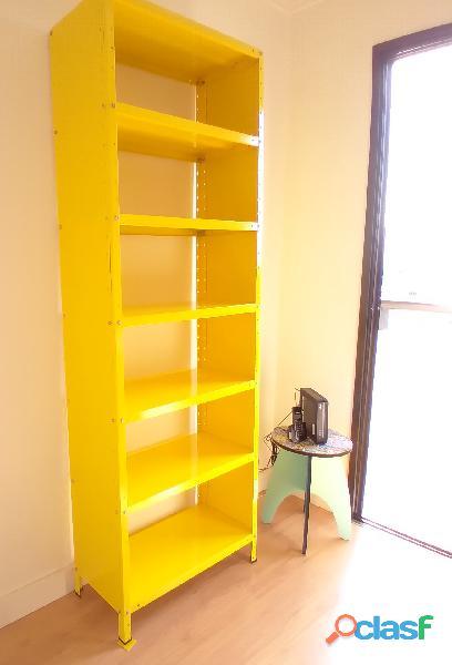 Estante de Aço Amarela Escritório