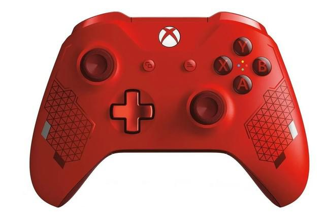 Controle wireless x box one sport red special edition