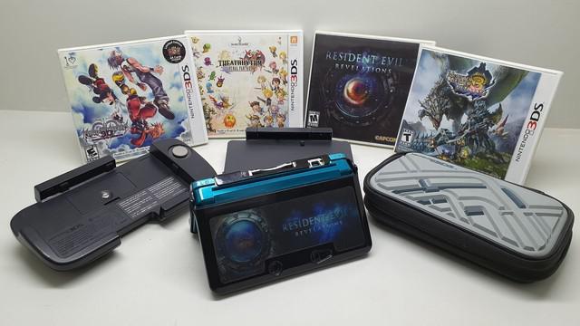 Nintendo 3ds + jogos e acessórios