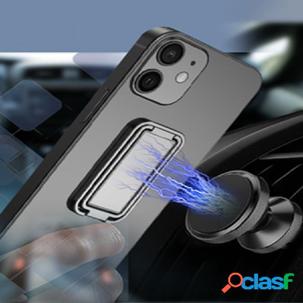 Suporte de acessórios de telefone móvel dobrável universal de liga de zinco de 1 pc 360 rotação duplo elevador de dedo s
