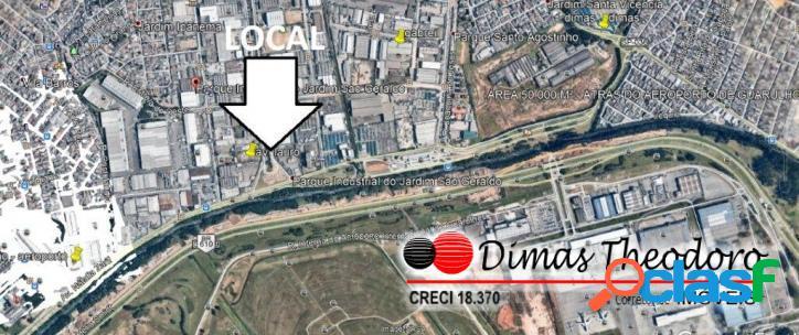Vende área 10.000 m² aeroporto guarulhos