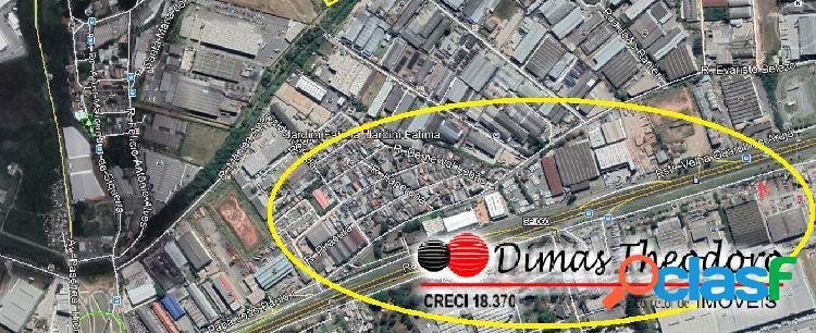 Vende excelente área 39.000 m² - guarulhos frente via dutra sp