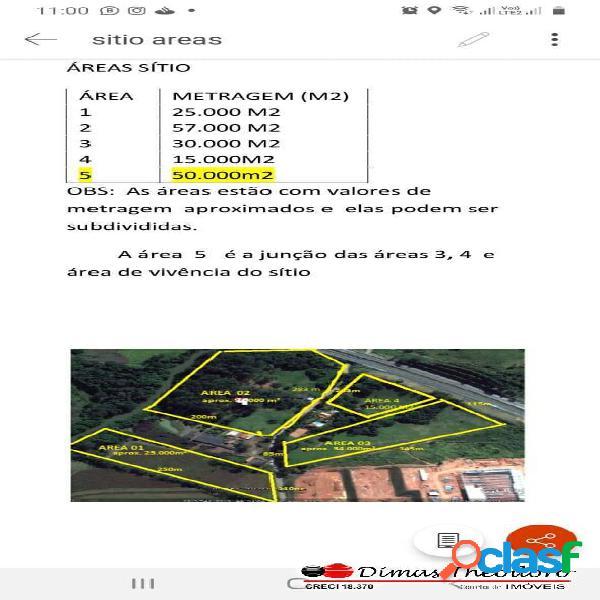 Vende área 140.000 m² ou partes itatiba fte d.pedro sp