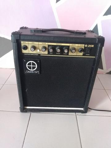 Amplificador - cubo de guitarra para estudo - pra levar hoje