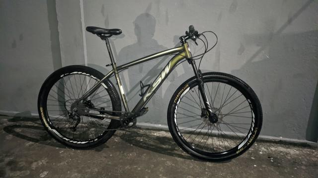 Bike ksw 29 freios disco hidráulico ltx