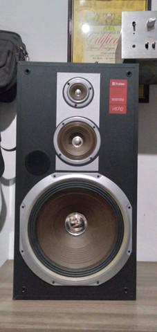 Caixas acústica vintage frahm ht712