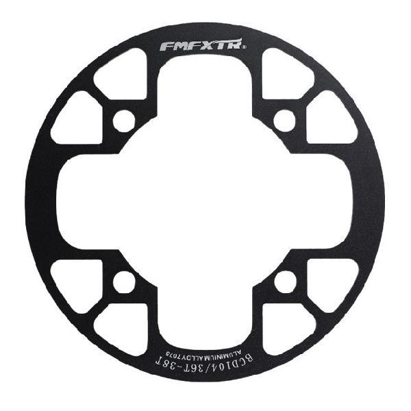 Capa proteção de coroa e corrente bicicleta mtb bcd 104 36