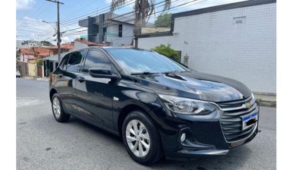 Chevrolet onix hatch 1.0 ltz 1.0 12v tb 5p aut 21/21 preto