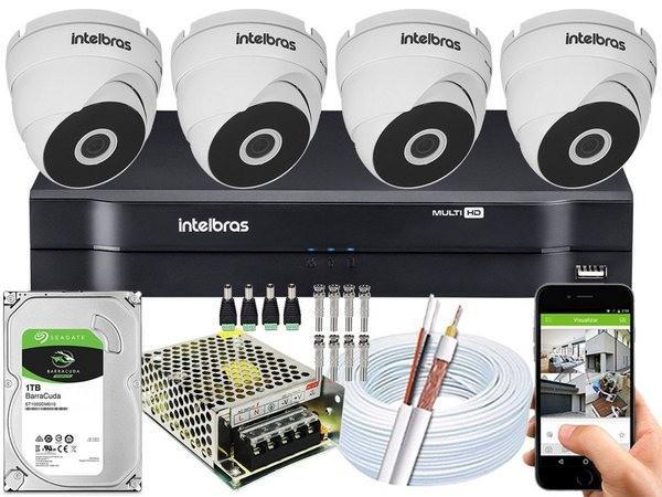 Locação de câmera de segurança para condominios e