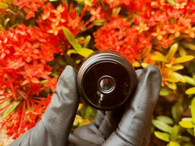 Mini câmera espiã a9 wifi hd