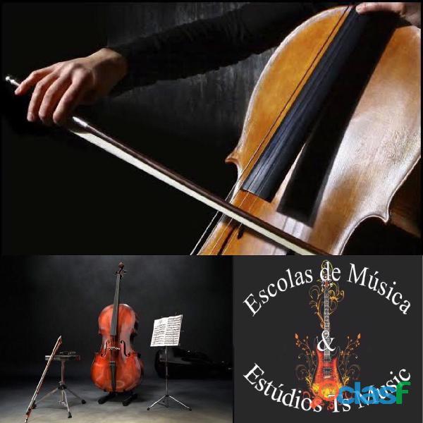Curso de violoncelo na zona leste de sp