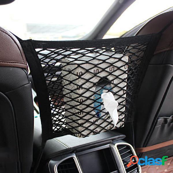 1 pc universal car seat side storage mesh net bolsa porta-bagagem mala de bolso cargo nets organizer auto interior acess