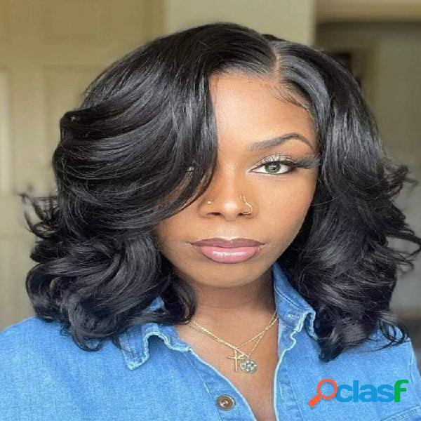 Capacete feminino polarizado médio longo encaracolado cabelo perucas de fibra de alta temperatura fio