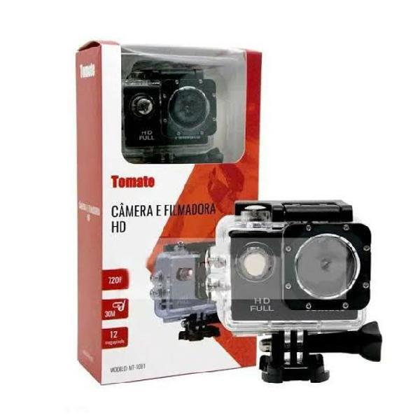Câmera filmadora esportes full hd estilo gopro- original