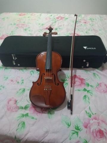 Violino eagle 4/4 ve 441 + case,breu e arco