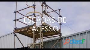 Locação e montagem de andaimes tubo roll e industriais 34 3322 2157