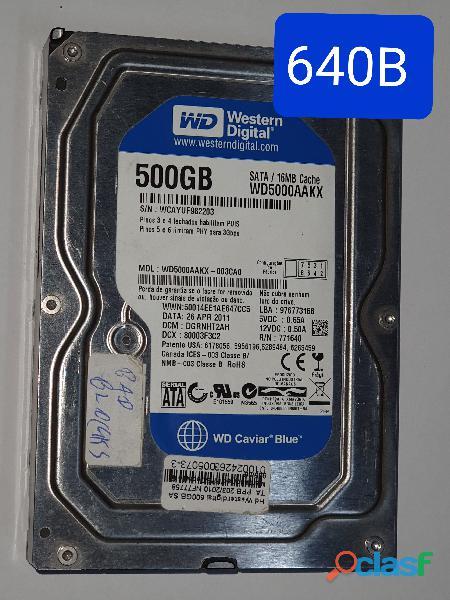 Placa Logica HD 500 Gb Wd5000aakx 003ca0   Cod. 640b
