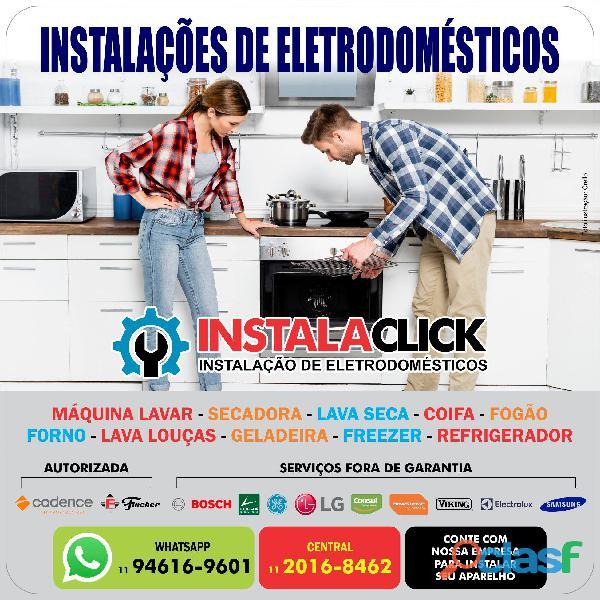 Serviços de instalação para eletrodomésticos em São Paulo