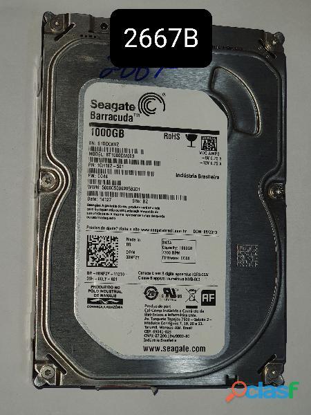 Placa logica HD 1 Tb St1000dm003   Fw Cc44   Cod 2667b