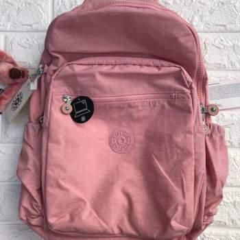colección completa precio inmejorable busca lo mejor mochila kipling seoul foram original rosa bebê